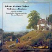 CD Cover Molter Sinfonien und Arien, Ölgemälde einer ländlichen Szene