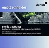 CD-Cover, Fotografie eines Waldsees mit Felsen