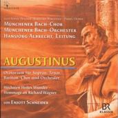 CD-Cover, Darstellung von Augustinus, orangetöne