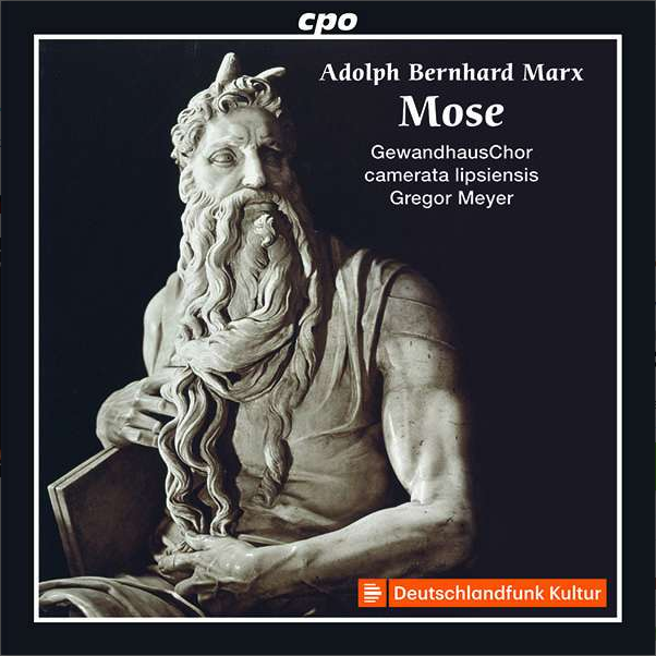 "Cover CD ""Mose"" antike Marmorskulptur"